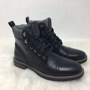 Goodfellow & Co combat black boots size 7